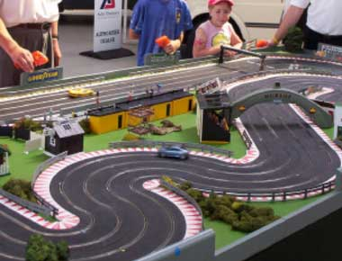 Giant Scalextric Sets
