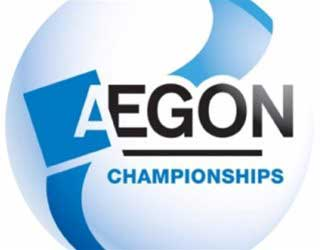 Image of the Aegon tennis championships logo.