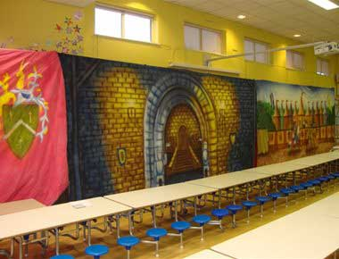Medieval Theme Backdrops