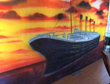 Titanic Theme Backdrops
