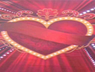 Valentine Theme Backdrops
