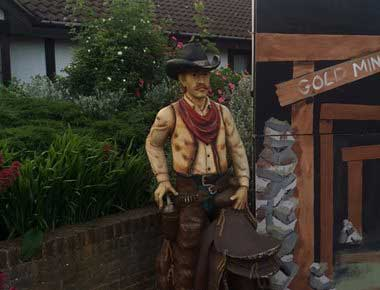 Wild West Statues
