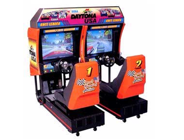 Sega Daytona USA Driving Simulator