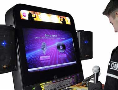 Sing Box Arcade Machine
