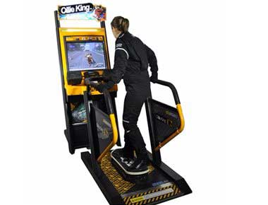 Skateboarding Arcade Machine