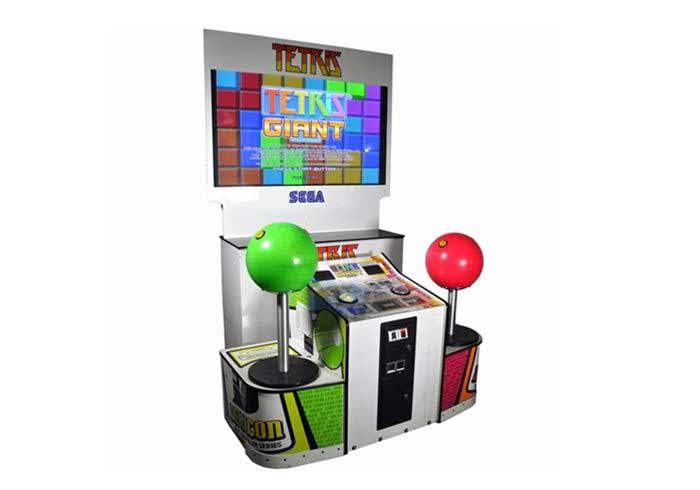 Sega Giant Tetris Arcade Machine