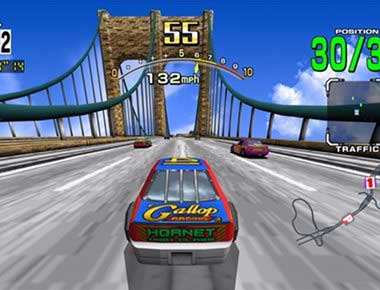 Daytona USA Driving Game