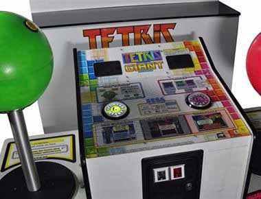 Giant Tetris Arcade Machine