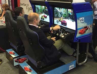 Driving Arcade Machines