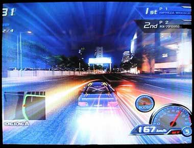 Sega R Tuned Driving Game