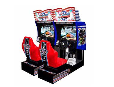 Sega Race TV Arcade Machine
