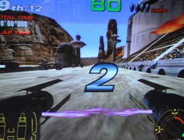 Star Wars Racing Game