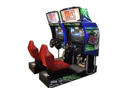 Sega R Tuned Arcade Machine