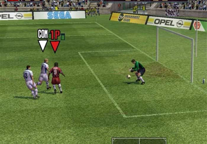 Football Computer Game graphics