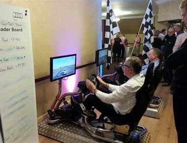 Vision Racer driving game