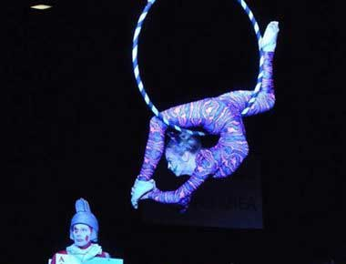 circus aerial act