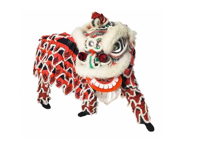 Chinese Lion Dance Celebration