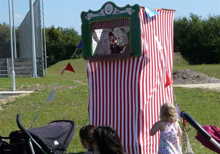 Punch and Judy Stall