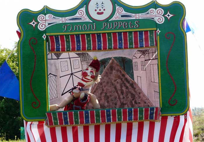 Punch and Judy Peformance
