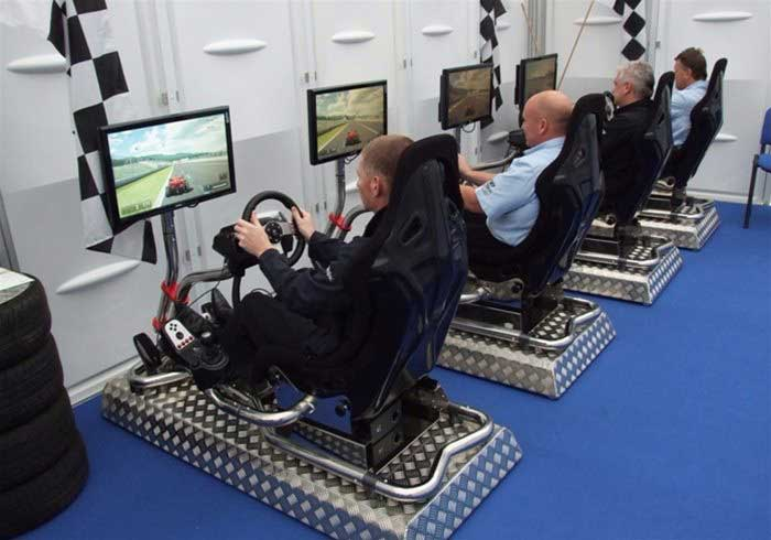 Vision Racers driving simulators