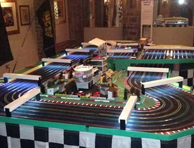 Scalextric set for hire