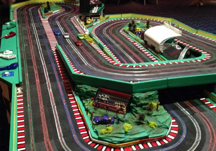 4 Lane Scalextric
