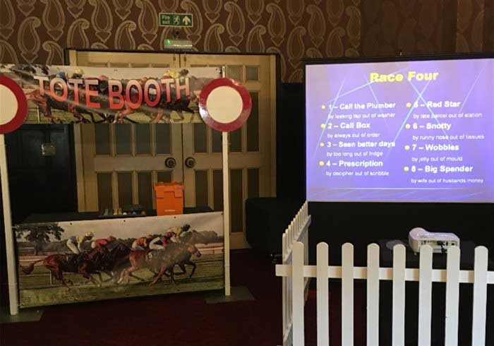 Race Night Theming