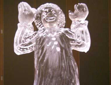 Clown Ice luge
