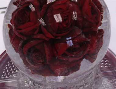 hire ice sculpture table centres