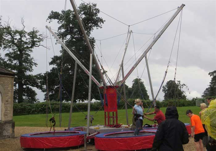 Mobile Bungee Trampolines for hire