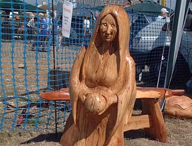 Chainsaw Carved Wood