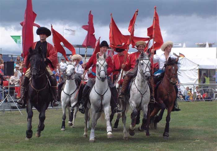 Cossack Riding Show