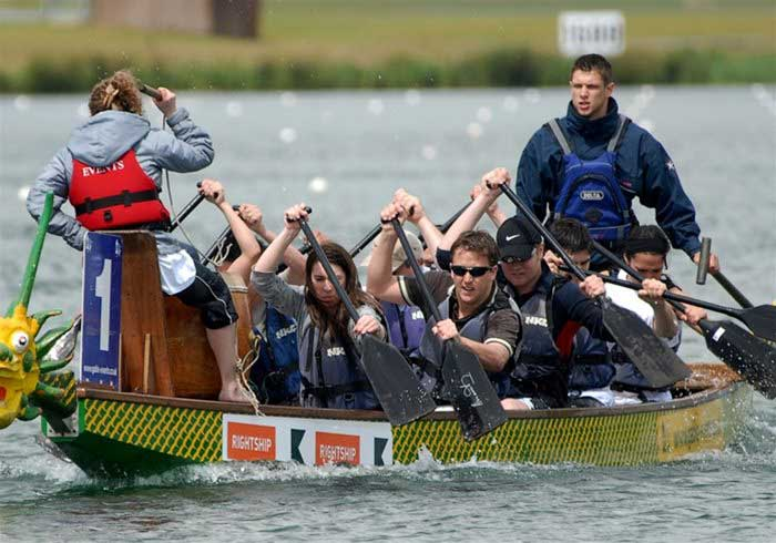 Corporate Dragon Boat Racing