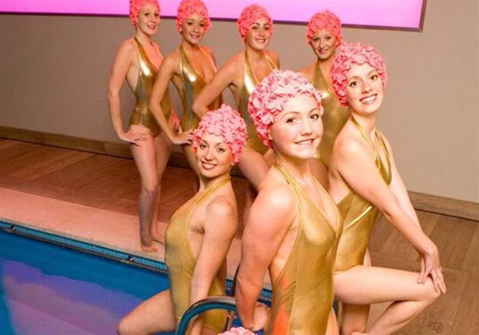 Ladies Synchronised Swimming Display