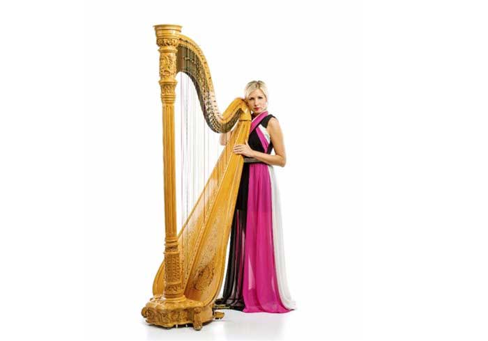 Hire classical harpists
