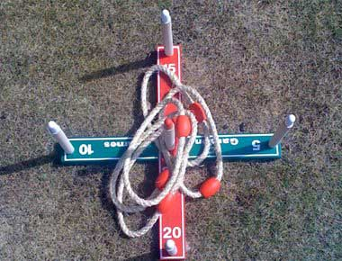 Hire Quoits Garden Game
