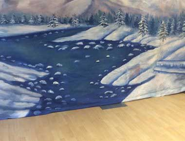 Christmas Backdrops for hire