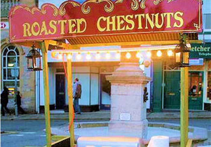 Roasted Chestnut Cart