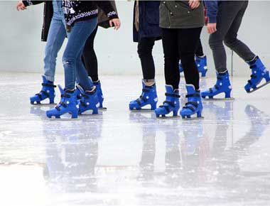 Ice rink hire