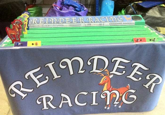 Reindeer Racing Game
