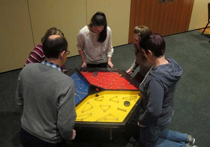 Games for team building events