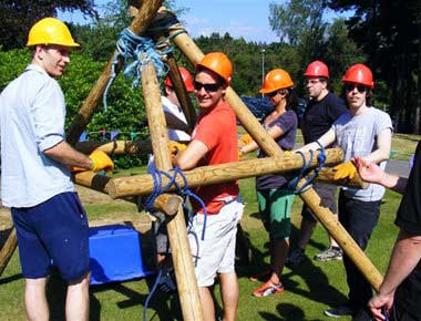 Fun team building games to play