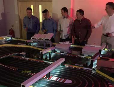six lane scalextric