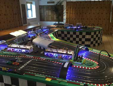 Four Lane Scalextric