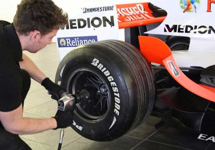 Tyre Changing Game