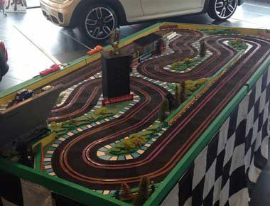 Hire 2 lane scalextric