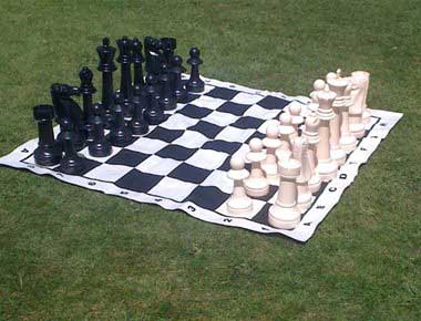 Hire giant chess mat