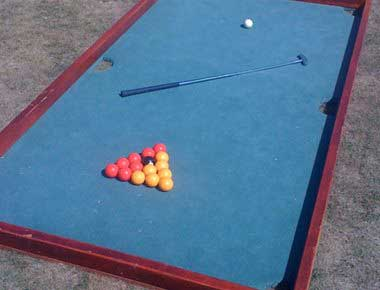 Pool and Golf Game
