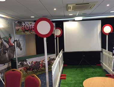 Race Night Screen and Theming