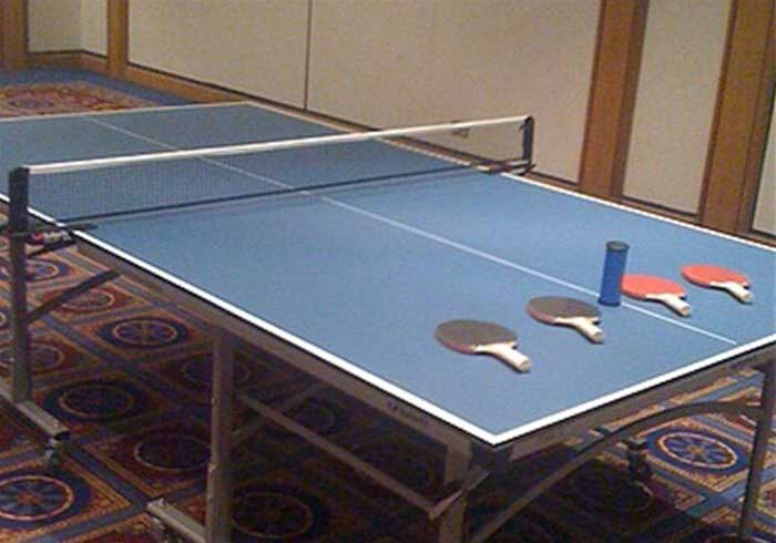 Table Tennis Table set to play
